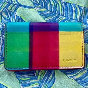 Lodis Color Block Card Case